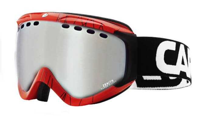 CARRERA ZENITH Red Silver Flash