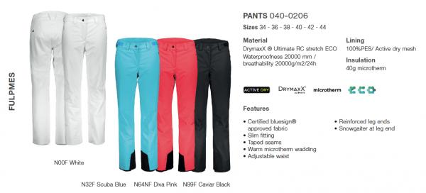 spodnie-damskie-fischer-fulpmes-2019