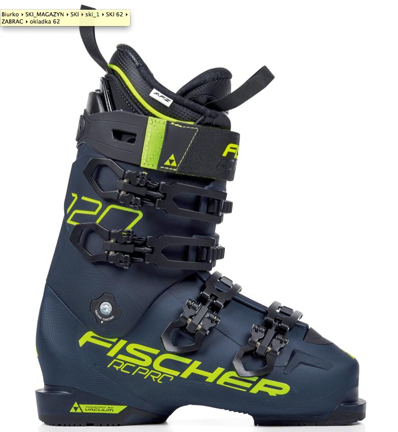 ACTIVE FIT ZONE najlepiej dopasowane buty Fischer'a MCK