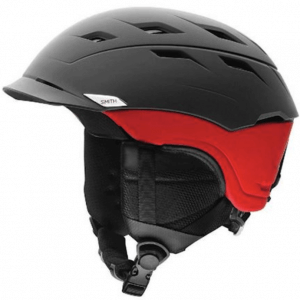 kask-smith-variance-matte-black-red