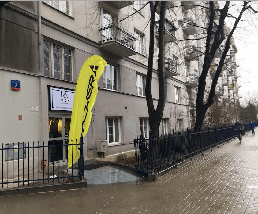 sklep narciarski Warszawa powiśle centrum MCK sport