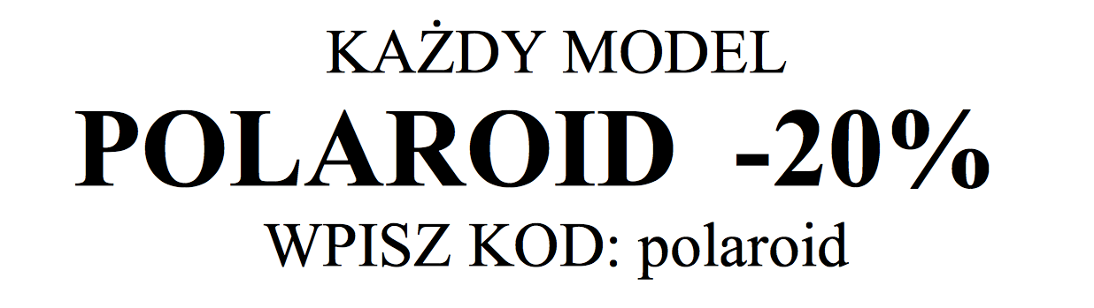 polaroid promocja