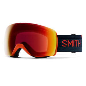 gogle smith 4d red rock chromapop sun red mirror 2020