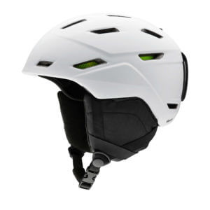 kask smith mission matte white 2020