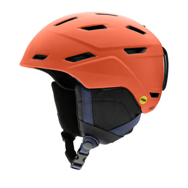 kask smith mission mips matte red rock 2020