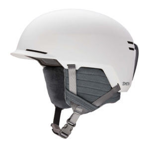 kask smith scout matte white 2020