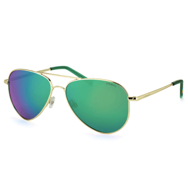 okulary polaroid pld 6012 gold green