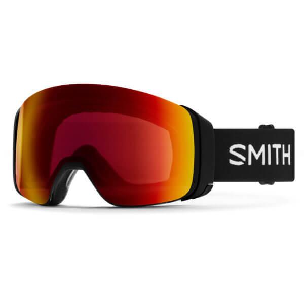 gogle smith 4d mag black chromapop sun red mirror 2020