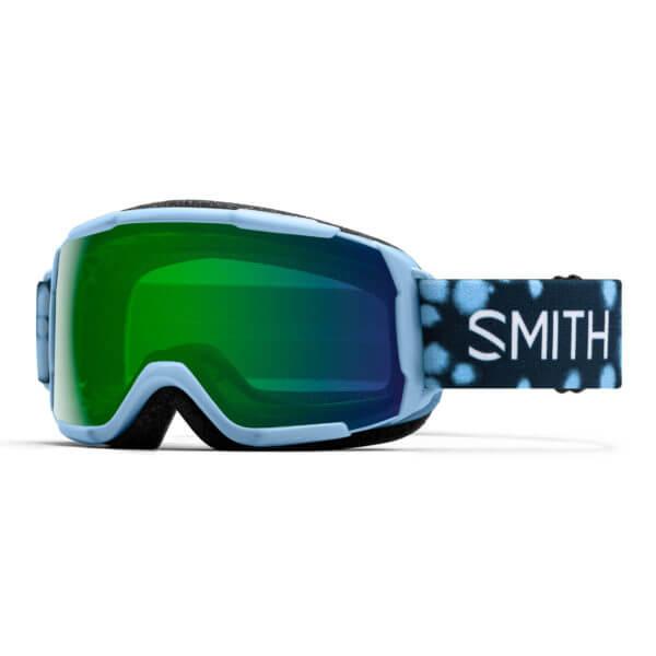 gogle smith grom smokey blue dots chromapop everyday green mirror 2020