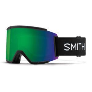 gogle smith squad xl black chromapop sun green mirror 2020