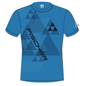 -shirt fischer leogang blue