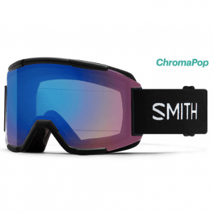 smith squad black photochromic rose flash