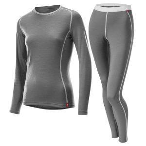 bielizna termoaktywna loeffler women grey 2020