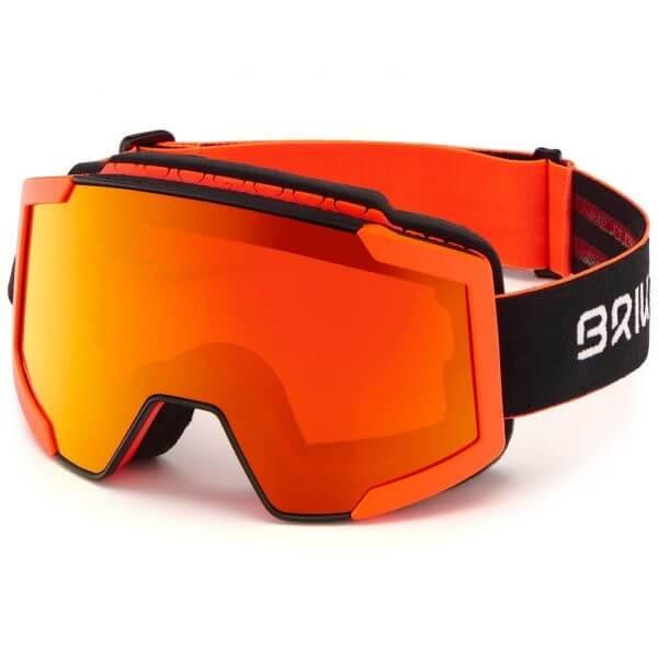 gogle briko lava fis black orange 2020