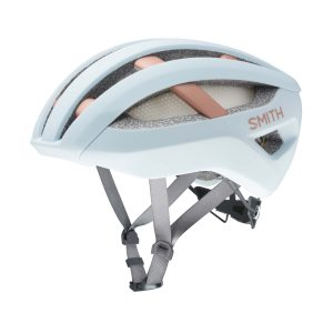kask rowerowy smith network mips matte powder blue champange