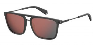 okulary polaroid 2060s grey red