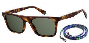 okulary polaroid pld 6110s green havana