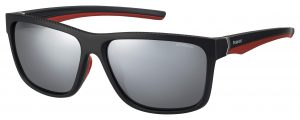okulary polaroid pld 7014s black red gold
