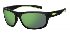 okulary polaroid pld 7022s black green