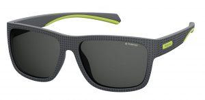 okulary polaroid pld 7025s dark grey yellowfluo