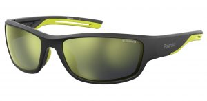 okulary polaroid pld 7028s black mat yellow