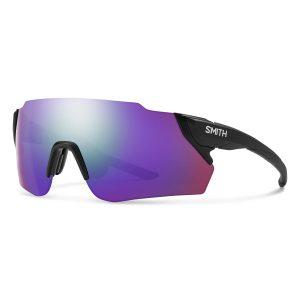 okulary smith attack matte black max violet mirror 20042300399DI