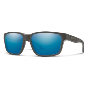 okulary smith basecamp matte gravy chromapop polarized blue mirror 201929FRE59QG
