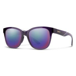 okulary smith caper crystal midnight chromapop violet