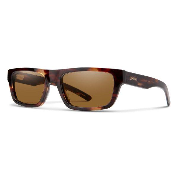 okulary smith crossfade tortoise polarized brown 20305608655SP