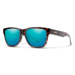 okulary smith lowdown slim 2 tortoise chromapop polarized blue mirror 20104408651QG