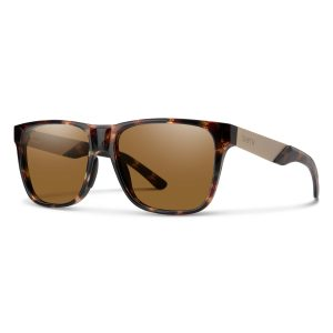 okulary smith lowdown steel dark tortoise chromapop polarized brown 201906EKP56L5