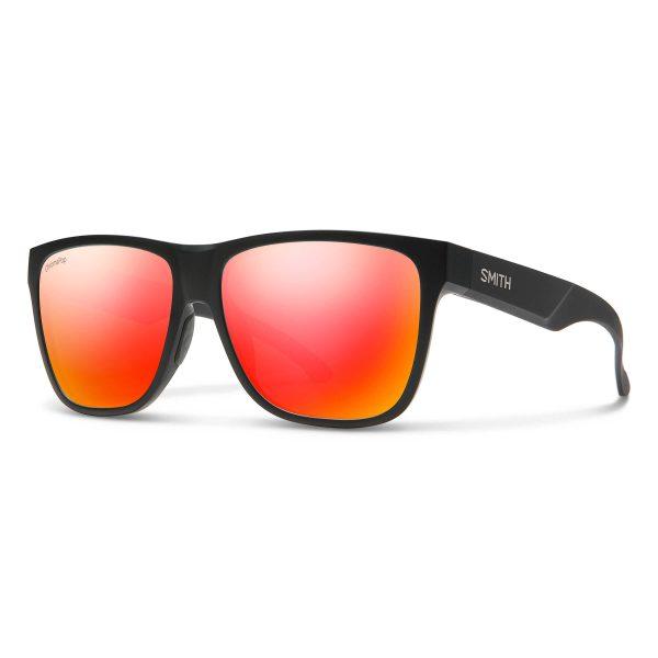 okulary smith lowdown xl 2 matte black gold chromapop red mirror 20151400360X6