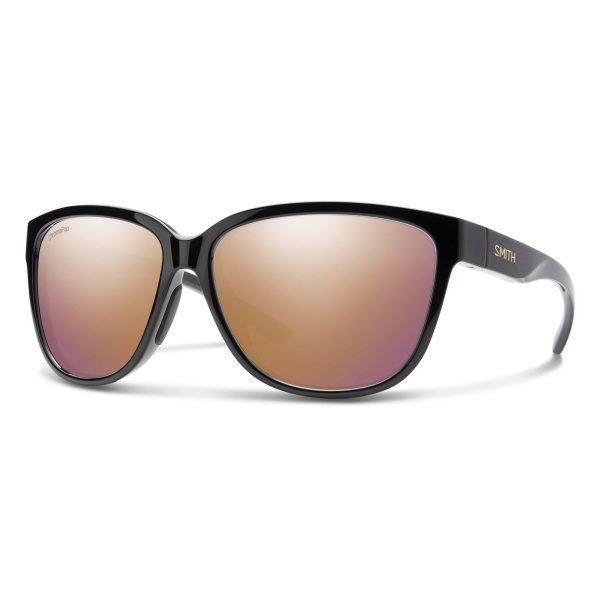okulary smith montery black gold chromapop rose gold 2029862M258DU