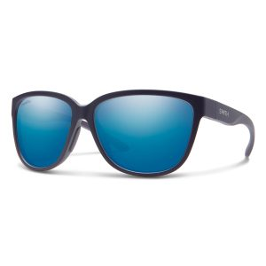 okulary smith montery matte midnight chromapop polarized blue mirror 2029861JZ58QG