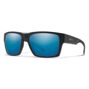 okulary smith outlier xl 2 matte black chromapop polarized blue mirror
