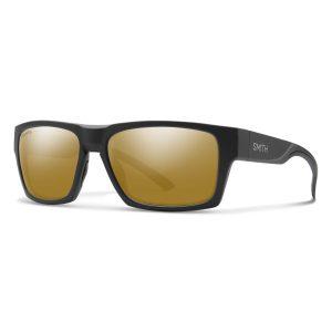 okulary smith outlier2 matte black chromapop polarized bronze mirror