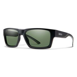 okulary smith outlier2 matte black chromapop polarized gray green