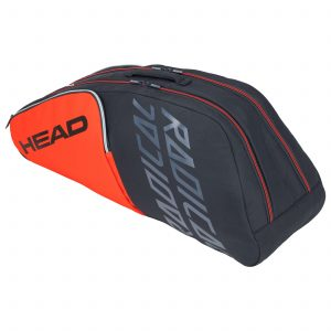 torba tenisowa head Radical 6R Combi orange grey
