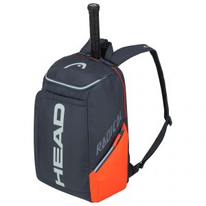 plecak tenisowy head Rebel Backpack orange grey