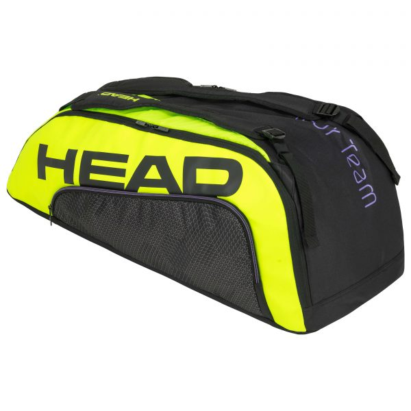 torba tenisowa head Tour Team Extreme 9R Supercombi black neon yellow
