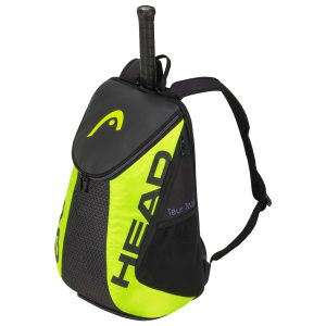 plecak tenisowy head Tour Team Extreme Backpack black neon yellow