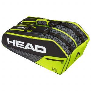 torba tenisowa head Core 9R Supercombi BKNY