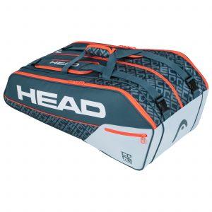torba tenisowa head Core 9R Supercombi grey orange