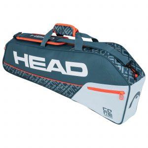 torba tenisowa head Core 3R Pro grey orange
