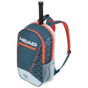 plecak tenisowy head Core Backpack grey orange