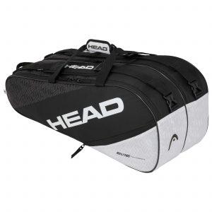 torba tenisowa head Elite 9R Supercombi black white