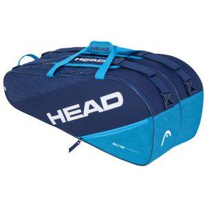 torba tenisowa head Elite 9R Supercombi navy blue