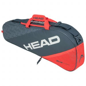 torba tenisowa head Elite 3R Pro grey orange