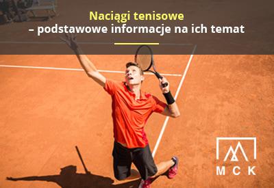 Naciągi tenisowe