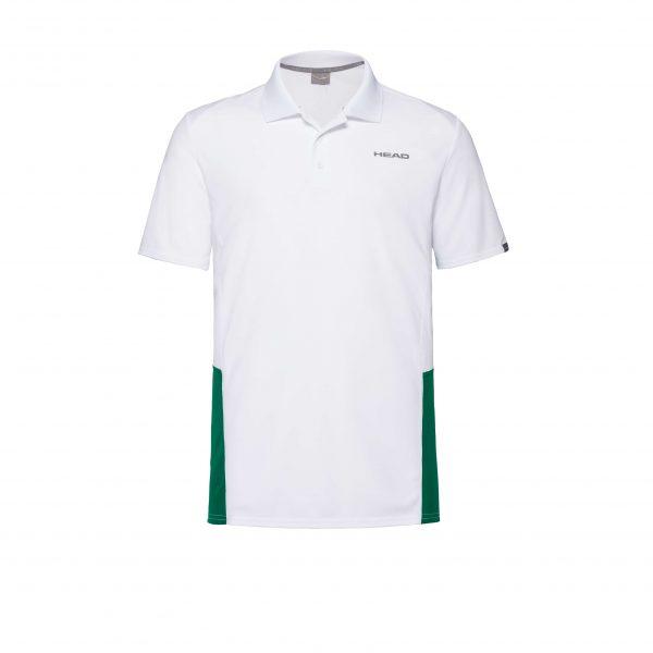 polo head 811339 CLUB Tech Polo white green